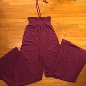 Victoria's Secret plush and lush jumper in plum